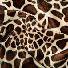 Velboa Baby Giraffe Short Pile Fun Fur x 0.5m